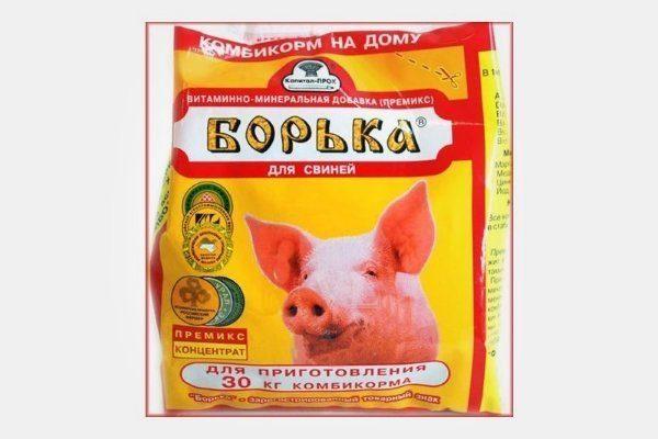 Добавка для свиней