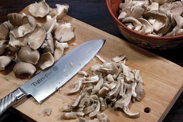 Резанные грибы