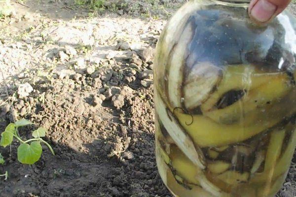 Банановое удобрение