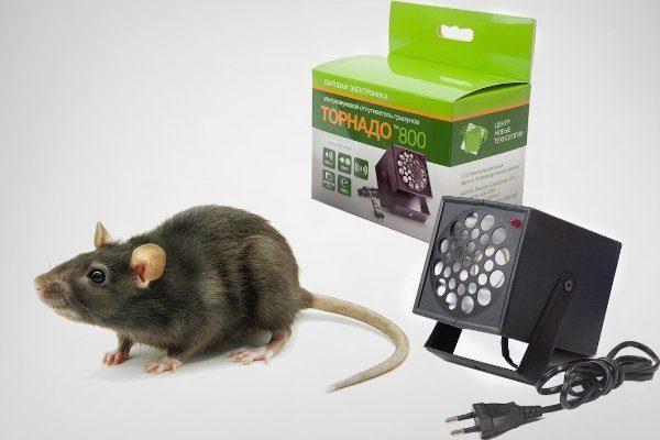 Ультразвуковой отпугиватель крыс