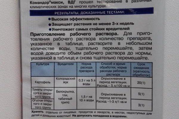 """Инструкция по применению к препарату """"Командор"""""""