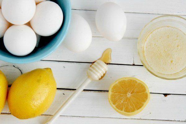 Смесь из яиц, мёда и лимона