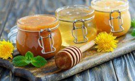 Мёд в баночках