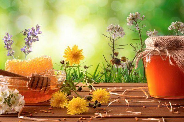 Цветочный (из разнотравья) мёд