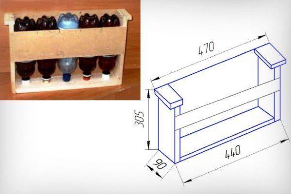 Вертикальная кормушка коробочного типа