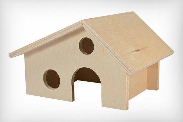 Крыша домика для хорька