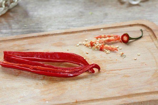 Кайенский перец разрезанный