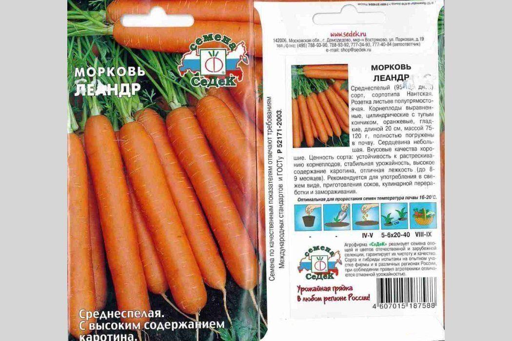 Морковь Леандр