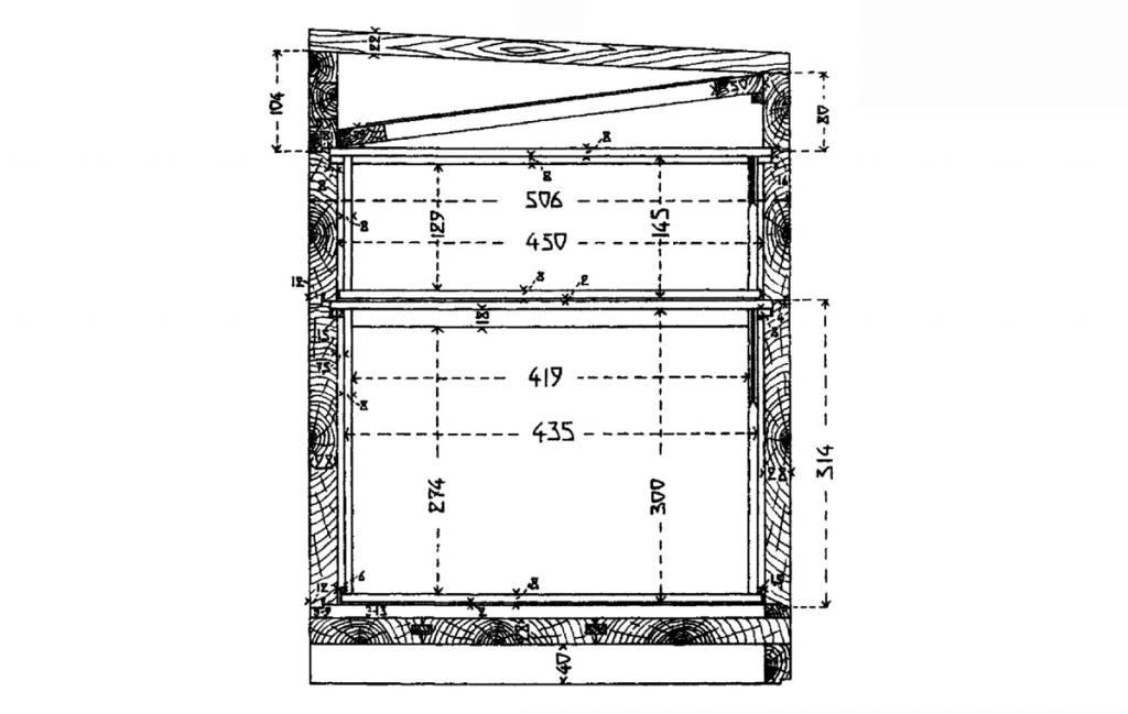 10 рамок. Схема 1.