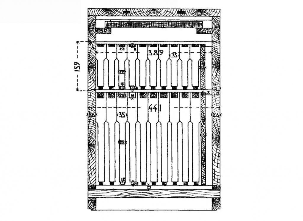 10 рамок. Схема 2