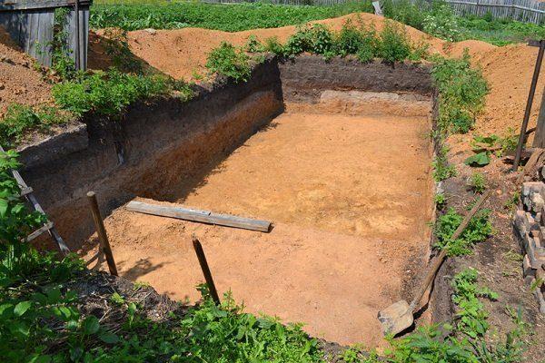 Выкопать котлован