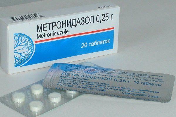 Метронидазол (Трихопол)