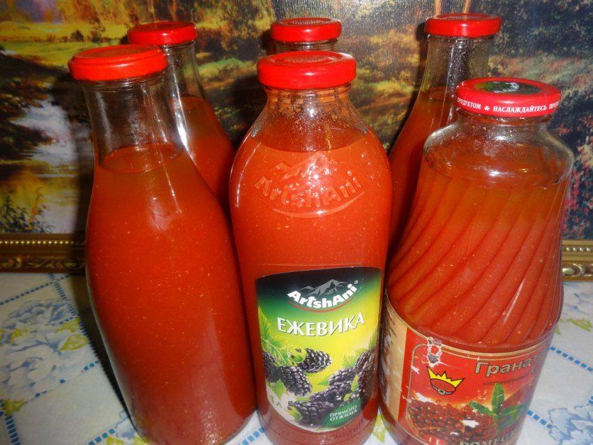 Томатный сок обыкновенный