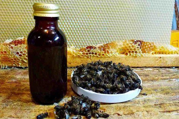 Пчелиный подмор настойка лечебная